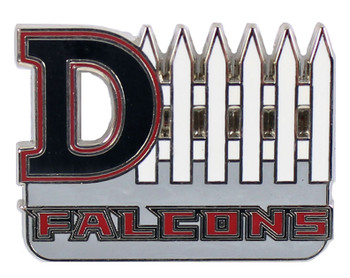 Atlanta Falcons D-Fence Pin