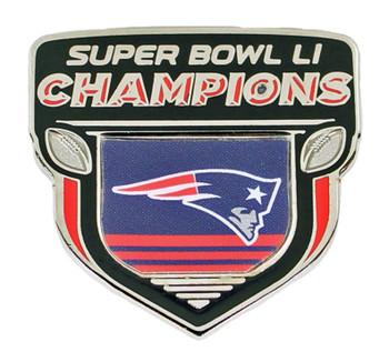 New England Super Bowl LI (51) Champions Pin -3