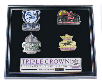 2017 Triple Crown Pin Set - Limited 1,000