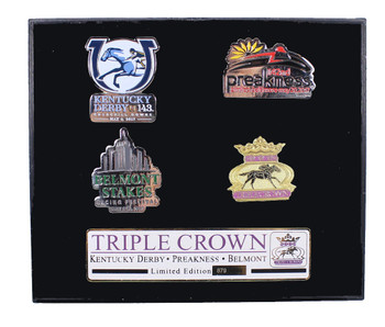 2017 Horse Racing's Triple Crown Pin Set - Limited 1,000