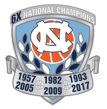 North Carolina Men's Basketball 6-Time Champions