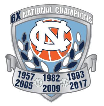 North Carolina Men's Basketball 6-Time Champions