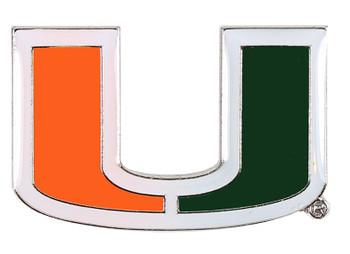 Miami Hurricanes Logo Pin