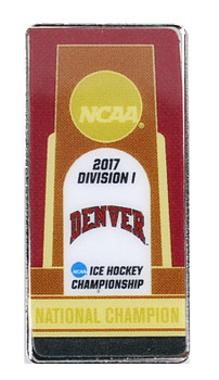Denver Pioneers 2017 NCAA Men's Ice Hockey Championship Pin