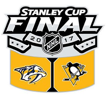2017 Stanley Cup Dueling Pin - Predators vs. Penguins