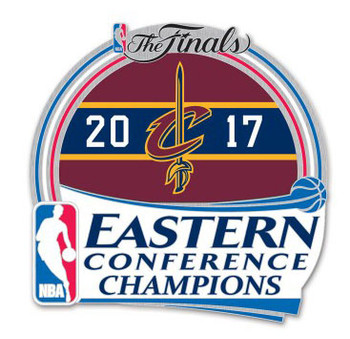 Cleveland Cavaliers 2017 Eastern Conference Champs Pin
