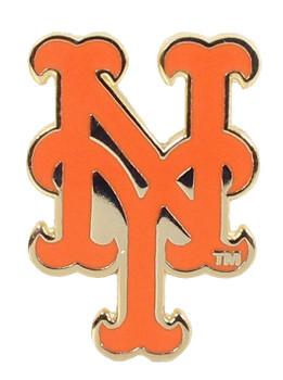 """New York Mets Logo Pin - """"NY"""" Style"""