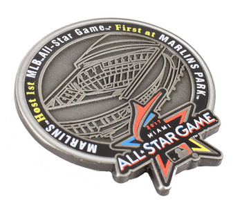 2017 MLB All-Star Game Marlins Park Commemorative Pin - Limited Only 200