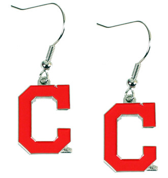 "Cleveland Indians ""C"" Earrings"