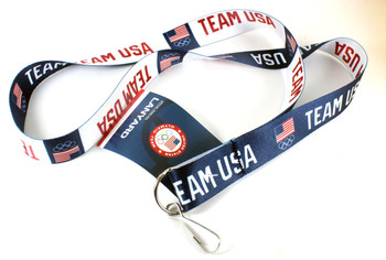 Team USA Olympic Reversible Lanyard.