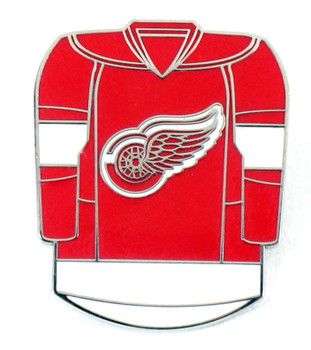 Detroit Red Wings Jersey Pin.