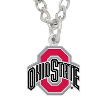 Ohio State Logo Necklace