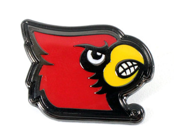 Louisville Cardinals Logo Pin