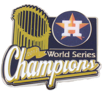 Houston Astros 2017 World Series Champs Trophy Pin