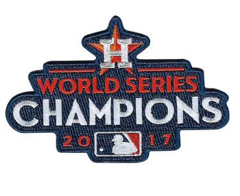 Houston Astros 2017 World Series Champs Patch