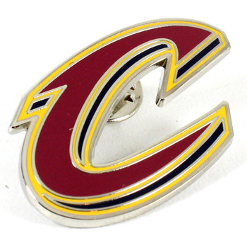 """Cleveland Cavaliers """"C"""" Logo Pin"""