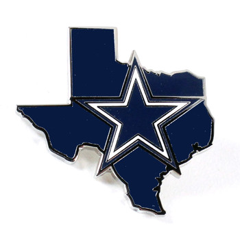 Dallas Cowboys State of Texas Pin