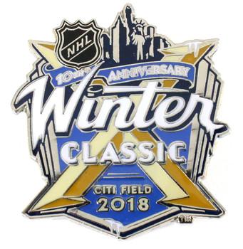 2018 NHL Winter Classic Logo Pin