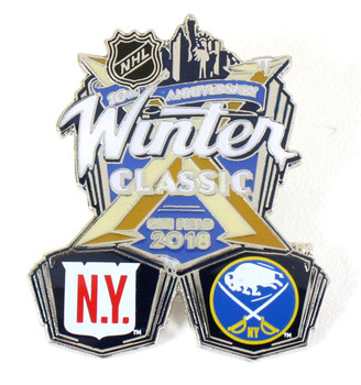 2018 NHL Winter Classic Rangers vs. Sabres Pin