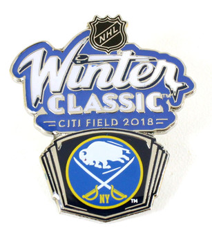 2018 NHL Winter Classic Buffalo Sabres Pin