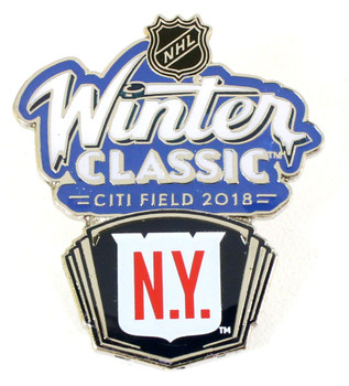 2018 NHL Winter Classic New York Rangers Pin