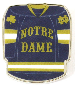 Notre Dame Hockey Jersey Pin