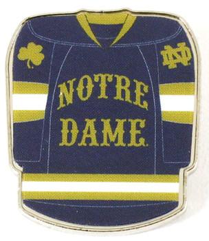 Notre Dame Hockey Jersey Pin