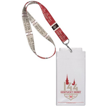 2018 Kentucky Derby 144 Lanyard with Ticket Holder