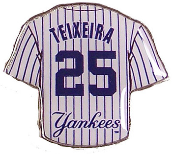 Mark Teixeira Yankees Jersey Pin