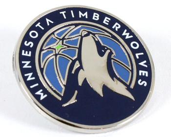 Minnesota Timberwolves Logo Pin.