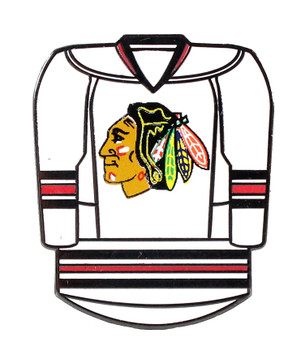 Chicago Blackhawks Jersey Pin - White