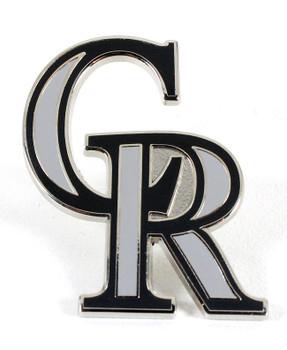 Colorado Rockies Logo Pin - CR