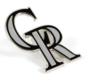 Colorado Rockies Logo Pin - CR