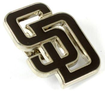 San Diego Padres Logo Pin - Brown