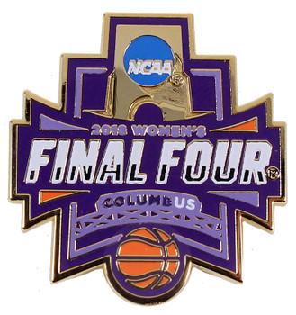 2018 Women's Final Four Logo Pin