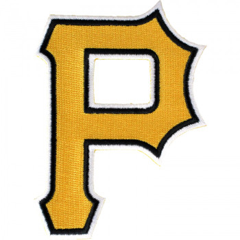 Pittsburgh Pirates Embroidered Emblem Logo Patch – 4""