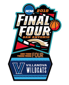 Villanova Wildcats 2018 Men's Final Four Pin