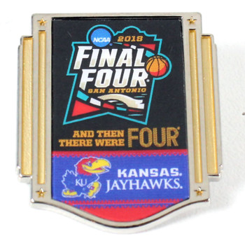 Kansas Jayhawks 2018 Men's Final Four Pin