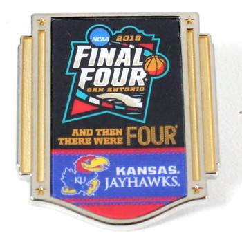 Kansas Jayhawks 2018 Men's Final Four Pin