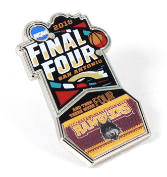 Loyola Ramblers 2018 Men's Final Four Pin