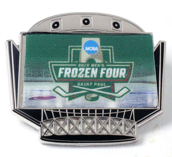 2018 Mens' Frozen Four Logo Pin
