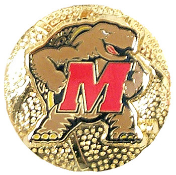 Maryland Basketball Pin