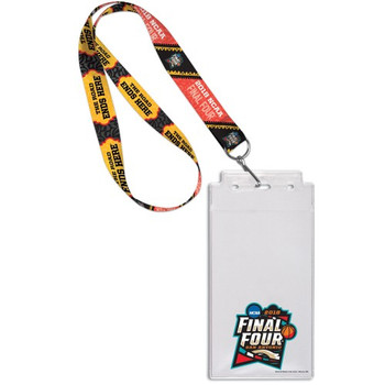 2018 Men's Final Four Lanyard w/ Ticket Holder