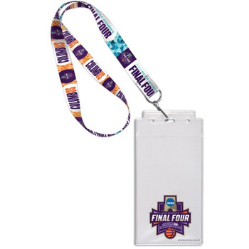 2018 Women's Final Four Lanyard w/ Ticket Holder