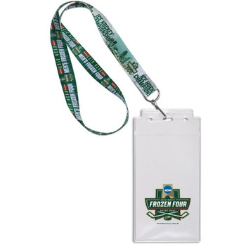 2018 Frozen Four Lanyard w/ Ticket Holder