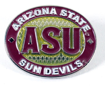 Arizona State Oval Pin