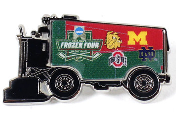 2018 Mens' Frozen Four Dueling Teams Pin