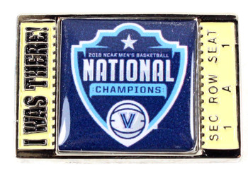 "Villanova Wildcats 2018 Men's Final Four Champs ""I Was There"" Pin"