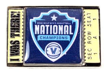 "Villanova Wildcats 2018 Men's Final Four Champs ""I Was There"" Pin"