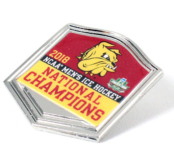 Minnesota Duluth 2018 Frozen Four Champs Pin